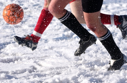 It's Snow Joke, bad weather delay's the start of the Worcester Goalkeeper Academy